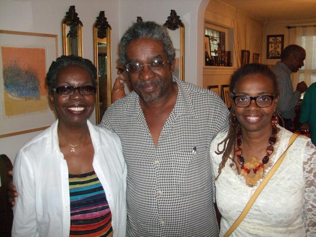 Freida Wheaton: Salon 53 Owner, Lamerol A. Gatewood, and Renee Franklin