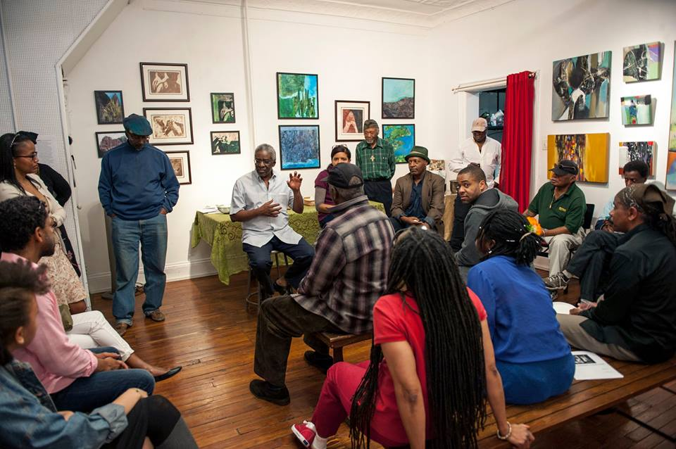 Gallery Talk with Artists Lamerol Gatewood, Luanda Lozano, and Al Johnson