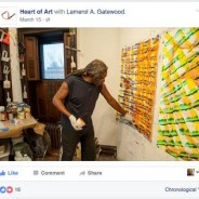 "Lamerol A. Gatewood interviewed by Luka Karaula's ""Heart of Art"""
