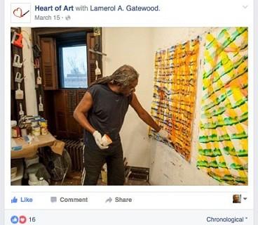 "Lamerol A. Gatewood interviewed by Luka Karaula's ""Heart of Art"""