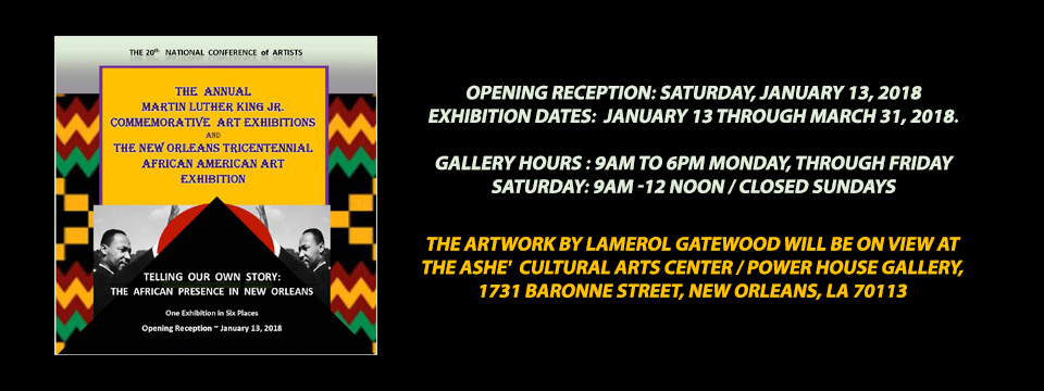 Exhibition- Telling Our Own Story: The African Presence in New Orleans